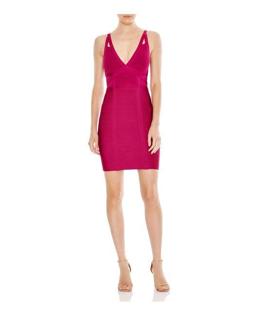 Guess   Pink Chevron Mirage Dress   Lyst