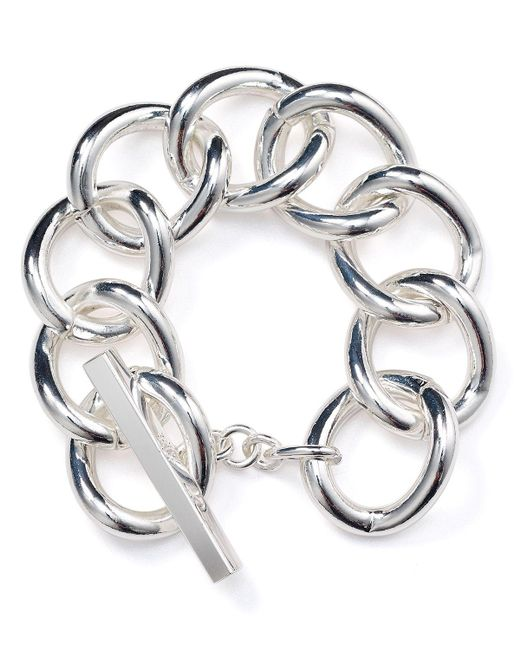 Pink Pony | Metallic Lauren Toggle Bracelet | Lyst