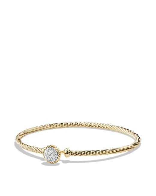 David Yurman | Metallic Châtelaine Bracelet With Diamonds In 18k Gold | Lyst