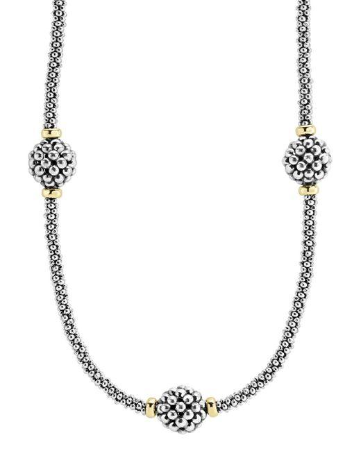 Lagos | Metallic 'maya' Teardrop Pendant Necklace | Lyst