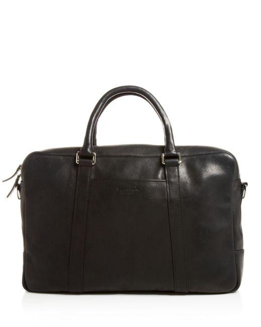 Shinola   Black Slim Briefcase for Men   Lyst
