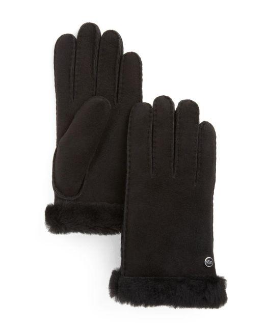 UGG   Black Australia Classic Carter Gloves   Lyst