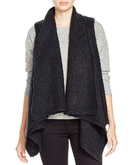 Soft Joie | Black Orrin Boucle Sweater Vest | Lyst