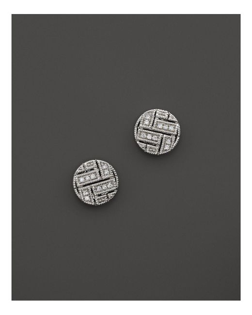 Dana Rebecca | Metallic Jemma Morgan Diamond Stud Earrings | Lyst
