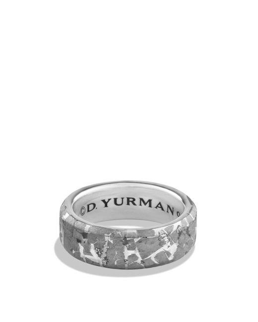 David Yurman | Metallic Fused Meteorite Ring | Lyst