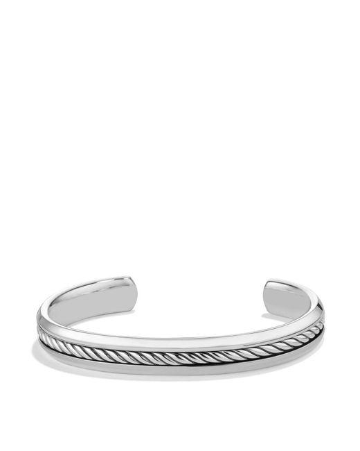 David Yurman | Metallic Cable Classics Cuff Bracelet | Lyst