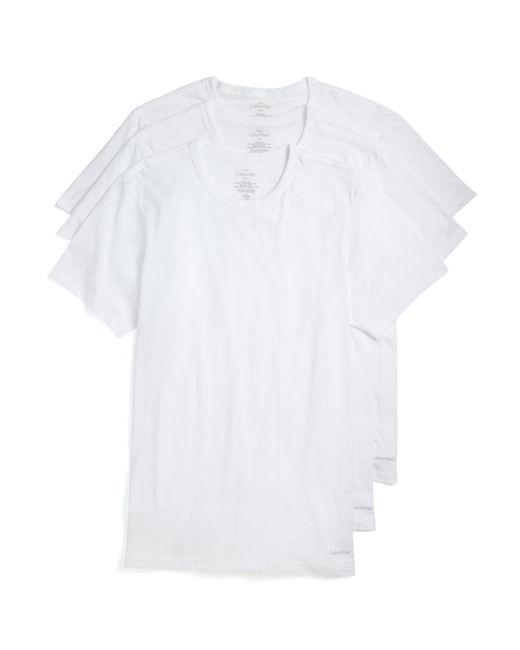 Calvin Klein | White Pack Of 3 for Men | Lyst