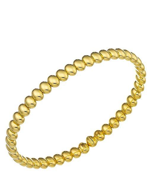 Chimento   Metallic 18k Yellow Gold Armillas Acqua Collection Bead Link Bracelet   Lyst