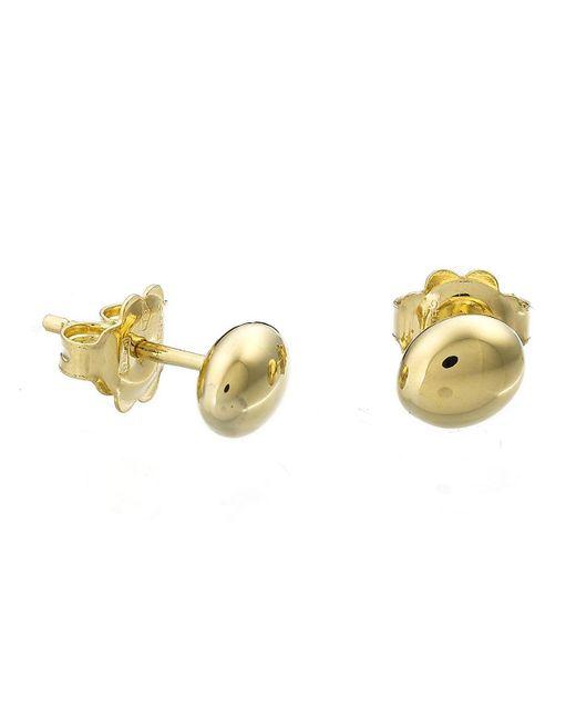 Chimento | Metallic 18k Yellow Gold Armillas Acqua Collection Bead Stud Earrings | Lyst