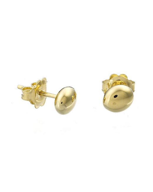 Chimento | Metallic 18k Yellow Gold Armillas Acqua Collection Bead Stud Earrings | Lyst