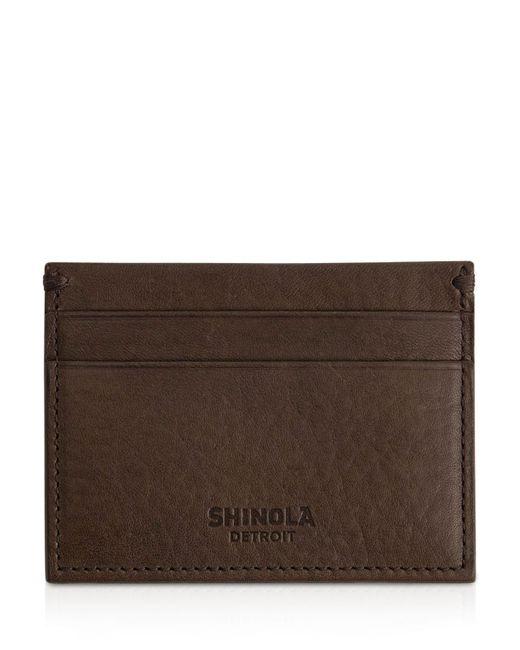 Shinola   Brown 5 Pocket Card Case   Lyst