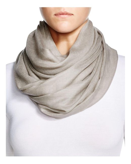 Fraas | Natural Cashmere Solid Wrap Scarf | Lyst
