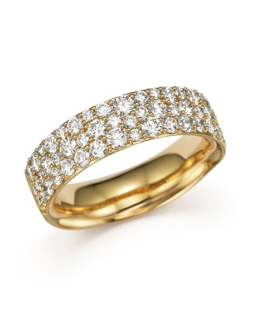 Ippolita   Metallic 18k Gold Glamazon Stardust Pave Ring With Diamonds   Lyst