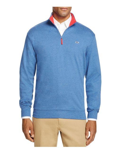 Vineyard Vines   Blue Tiller Quarter Zip Sweater - 100% Bloomingdale's Exclusive for Men   Lyst