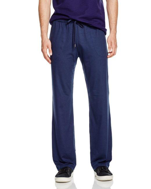 Derek Rose | Blue Micromodal Lounge Pants for Men | Lyst