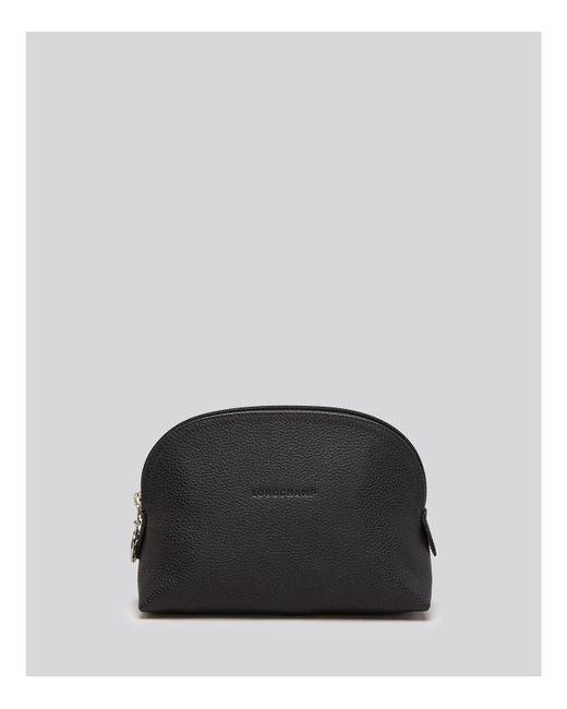 Longchamp - Black Le Foulonne Dome Cosmetic Case - Lyst