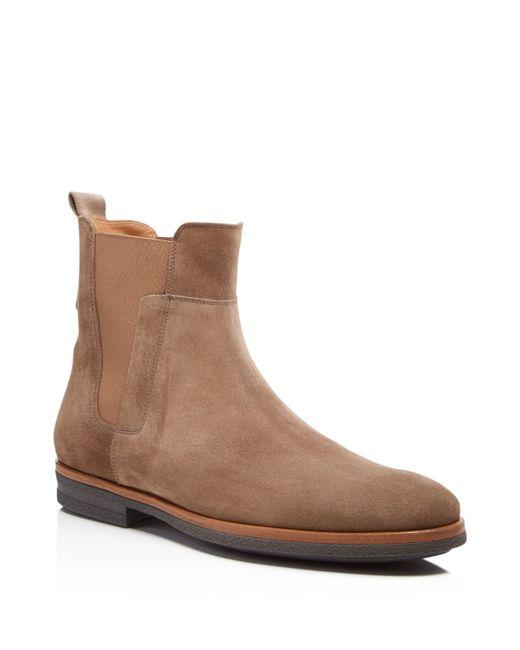 Vince Harvey Suede Chelsea Boots In Beige For Men Truffle