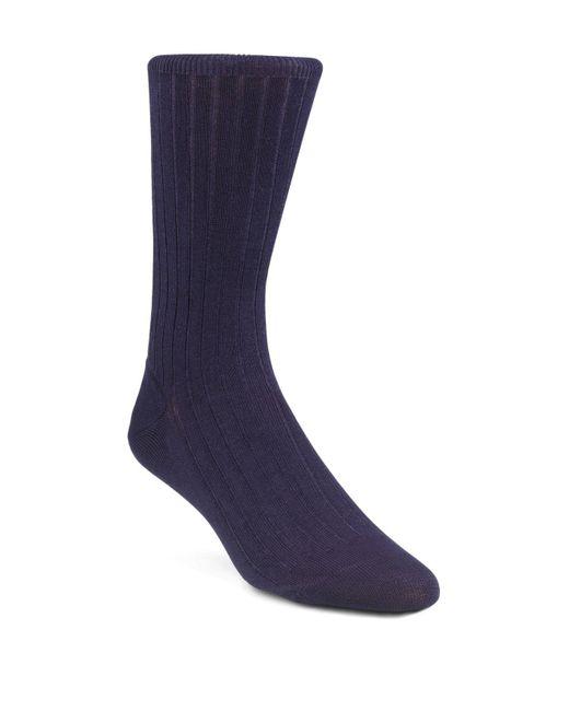 Calvin Klein | Blue Tech Cool Rib Crew Socks for Men | Lyst