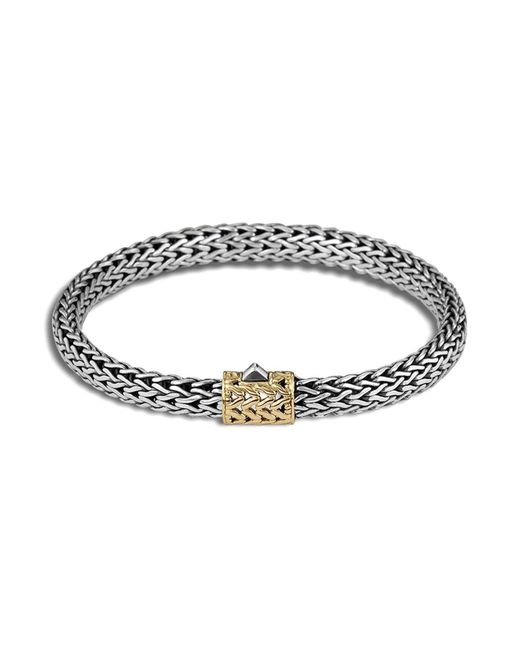 John Hardy | Metallic Goldaccent Small Cablechain Bracelet | Lyst
