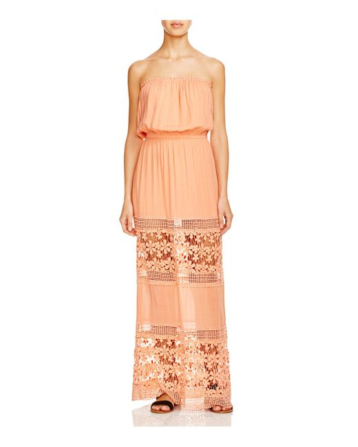 6 Shore Road By Pooja | Pink 6 Shore Road Charlotte Maxi Dress Swim Cover Up | Lyst