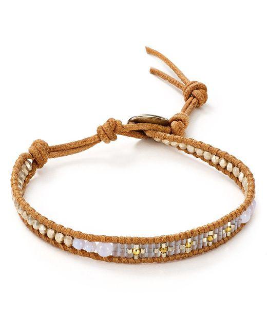 Chan Luu   Natural Set Of Three Beaded Bracelets   Lyst
