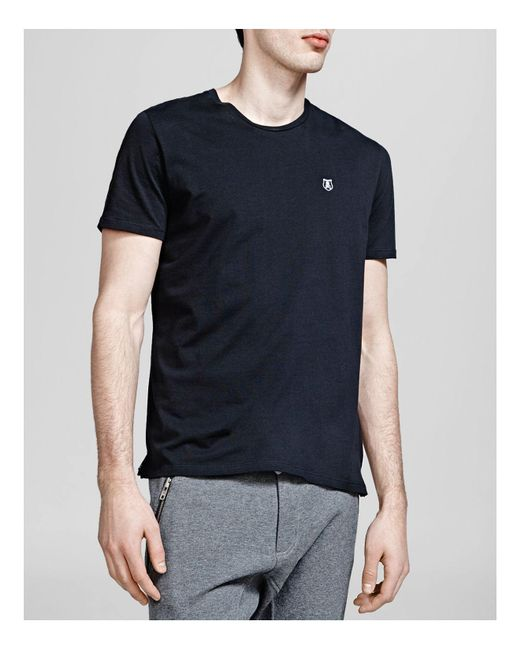 The Kooples - Black New Pima Cotton Tee for Men - Lyst
