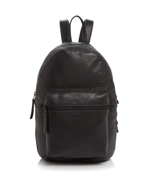 Baggu | Black Leather Backpack | Lyst