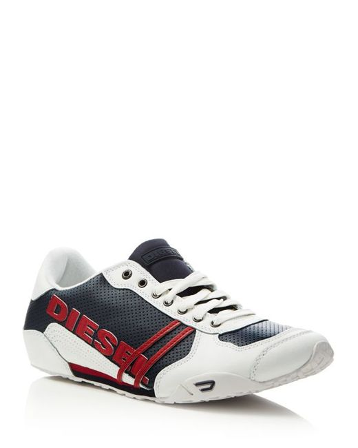 Diesel Harold Solar Lace Up Sneakers In Multicolor For Men
