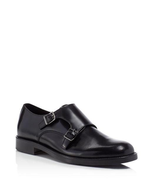 A Testoni Monk Strap Dress Shoes