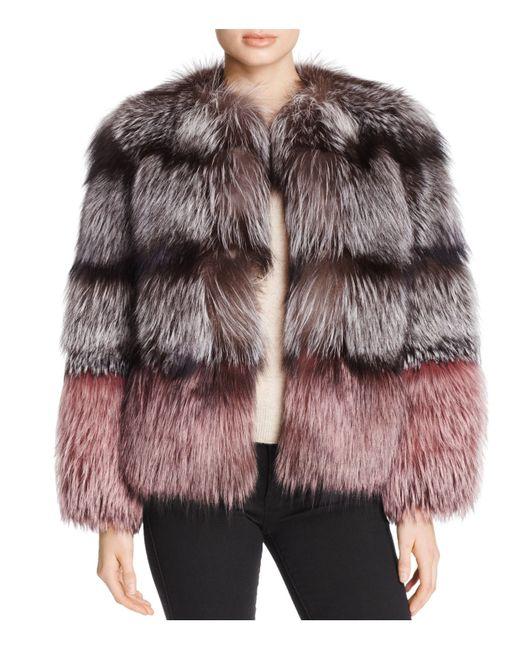 Maximilian | Multicolor X Michael Kors Nafa Fox Fur Jacket | Lyst