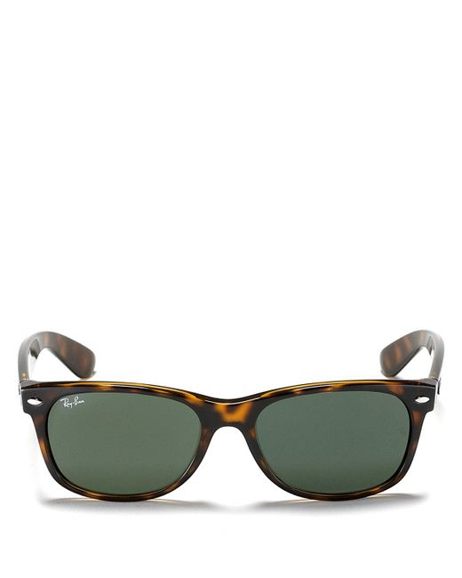 Ray-Ban | Brown New Wayfarer Polarized Sunglasses, 55mm | Lyst