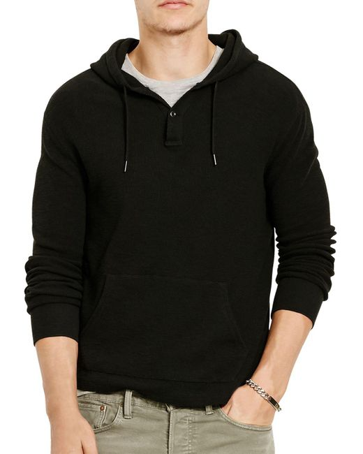 Polo Ralph Lauren | Black Cashmere Hoodie for Men | Lyst