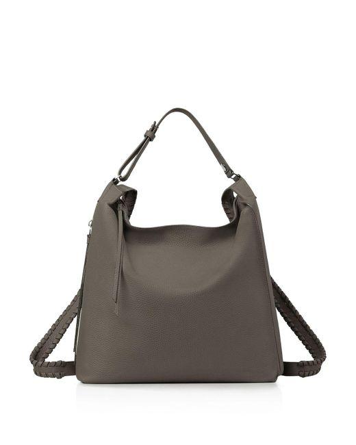 AllSaints | Gray Kita Backpack | Lyst