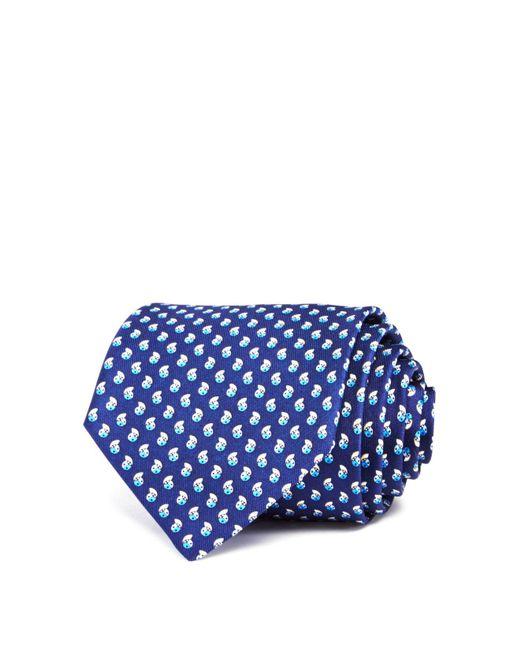 Ferragamo | Blue Ladybug Neat Classic Tie for Men | Lyst
