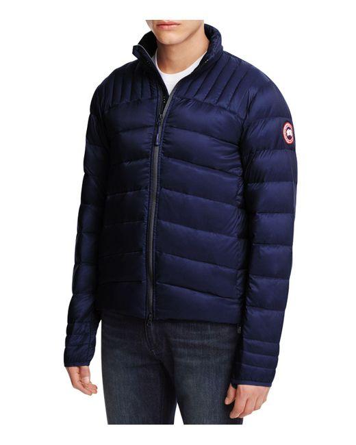 Canada Goose | Blue Brookvale Down Jacket for Men | Lyst