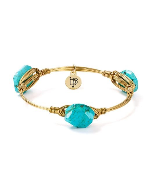 Bourbon and Boweties | Multicolor Wire-wrapped Bangle | Lyst