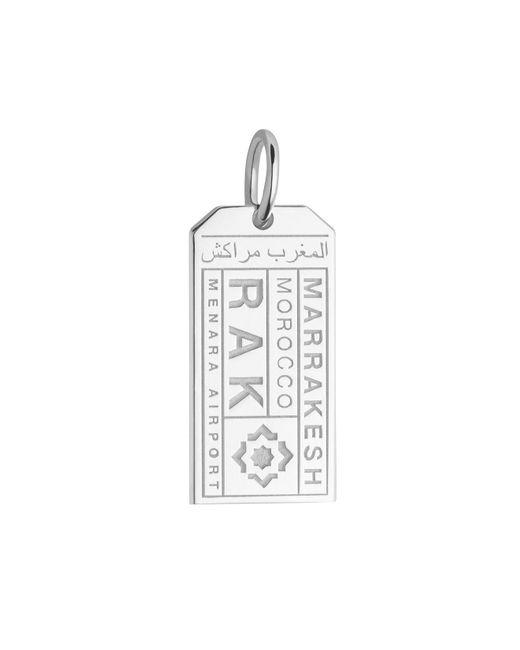 Jet Set Candy | Metallic Rak Marrakesh Luggage Tag Charm for Men | Lyst
