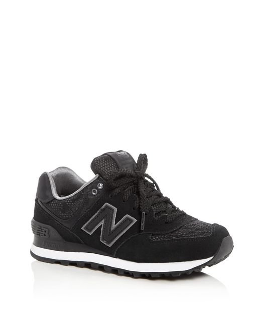 New Balance | Black Limit.ed Usa 998 Suede & Mesh Sneakers | Lyst