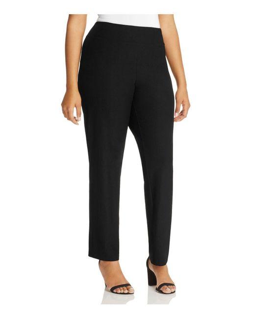 Eileen Fisher | Black Slim Ankle Pants | Lyst