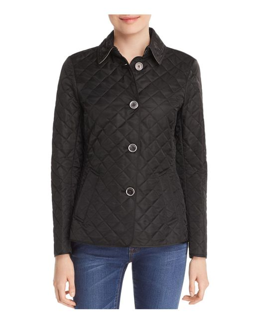 Burberry - Black Copford Quilted Jacket - Lyst