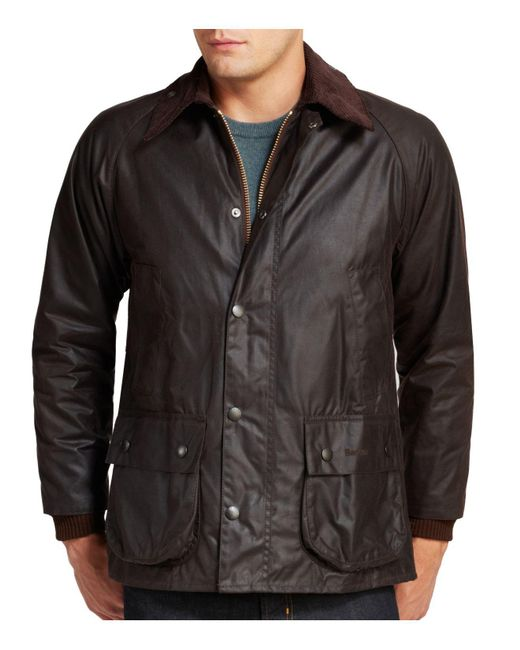 Barbour | Brown Classic Bedale Waxed Cotton Coat for Men | Lyst