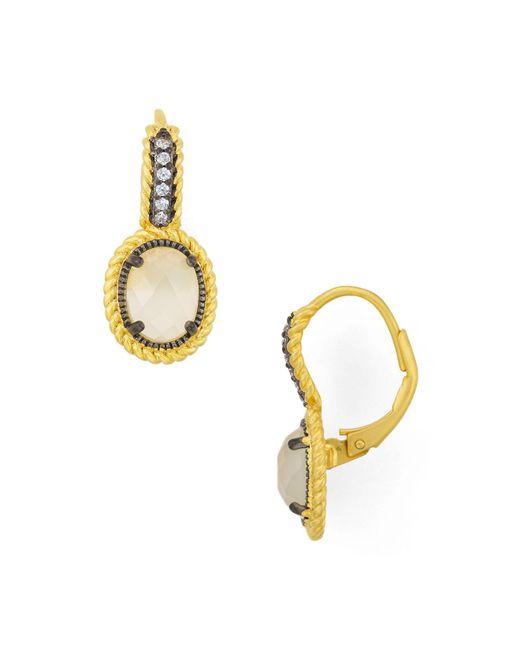 Freida Rothman | Multicolor Cova Leverback Earrings | Lyst