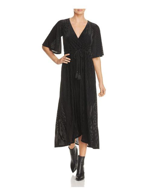 LOST AND WANDER   Black Lost And Wonder Carmen Maxi Dress   Lyst