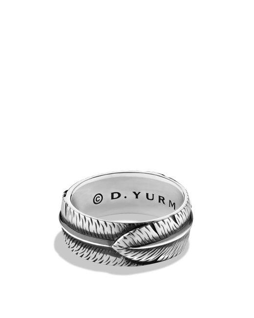 David Yurman | Metallic Frontier Band Ring | Lyst