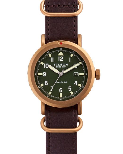 Filson - Green The Scout Watch, 45.5mm for Men - Lyst
