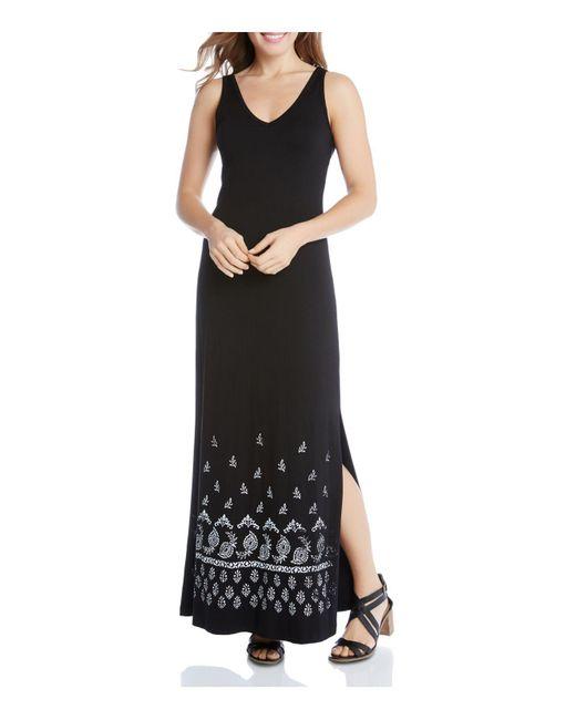 Karen Kane | Black Alana Maxi Dress | Lyst
