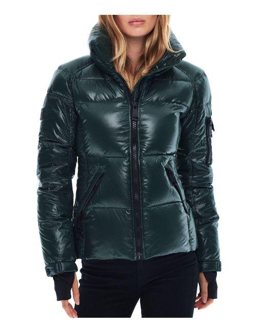 Sam. | Green Freestyle Down Jacket | Lyst