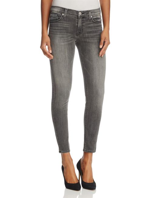Hudson - Gray Spectrum Nico Ankle Super-skinny Jeans In Spectrum - Lyst