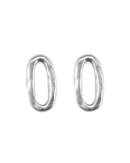 Uno De 50 | Metallic Linked Stud Earrings | Lyst