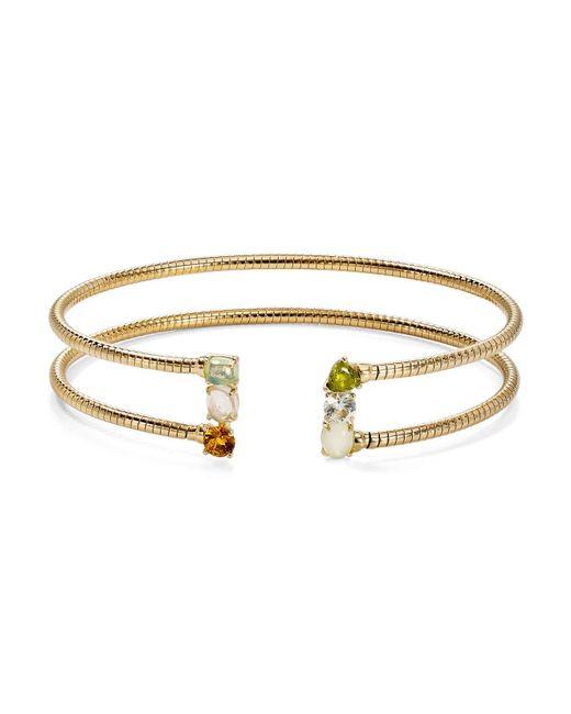 Nadri - Metallic Palma Flexi Cuff Bracelet - Lyst